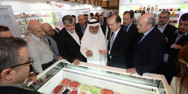 Bursa'dan gıda ihracatında atılım sinyali
