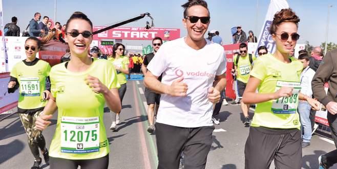 Soral kardeşler maraton koştu
