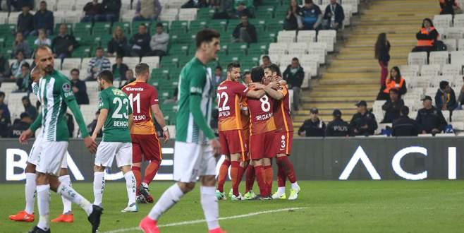 Bursaspor 0-5 Galatasaray (MAÇ SONUCU)