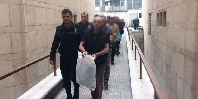 Bursa'da FETÖ/PDY operasyonu: 10 kişi adliyede