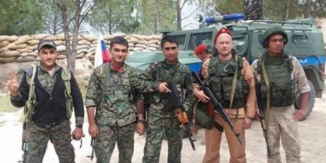 Rus askerinin YPG'lilerle fotoğrafları ortaya çıktı