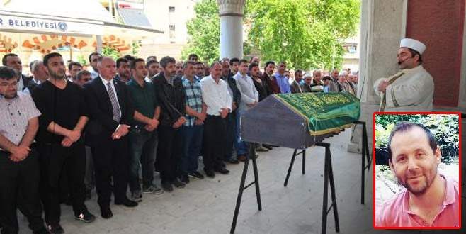 Bursa'da iş kazasında hayatını kaybeden kişi toprağa verildi
