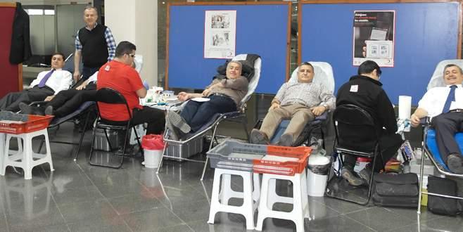BUTTİM'den kan bağışı kampanyası