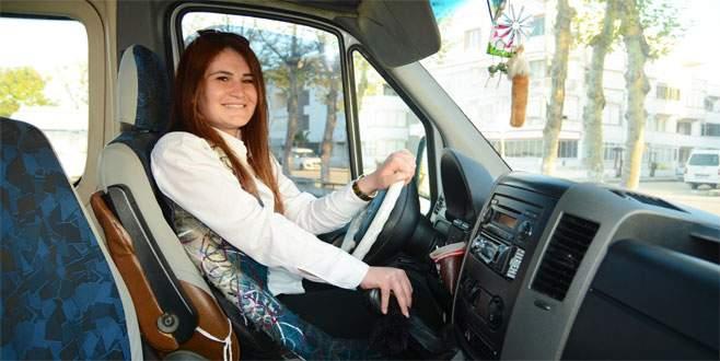 Bursa'nın 24 yaşındaki şoför Nebahat'ı