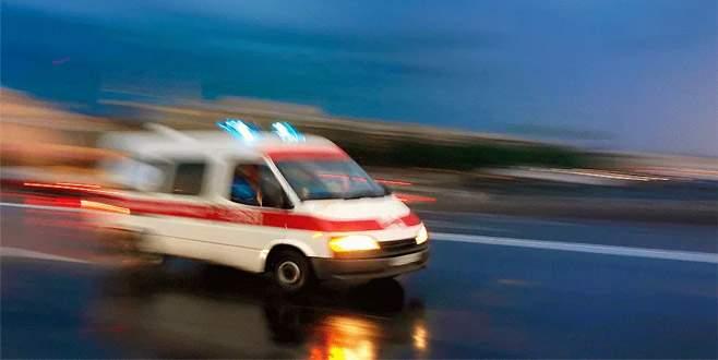Bursa'da yanlışlıkla deterjan içen bir kişi hastanelik oldu