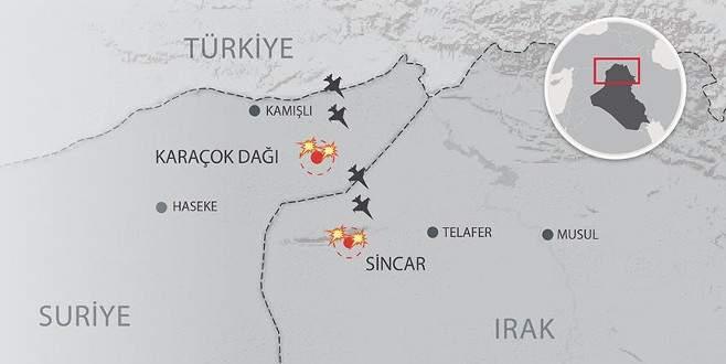 TSK'dan 'Sincar ve Karaçok' açıklaması