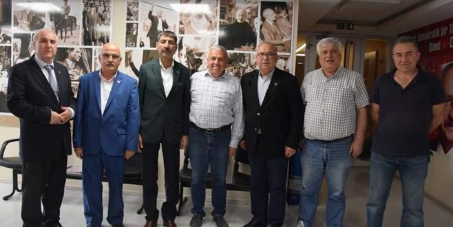 CHP'ye dayanışma ziyareti