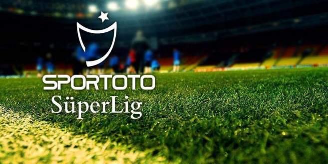 Spor Toto Süper Lig'de 30. hafta heyecanı