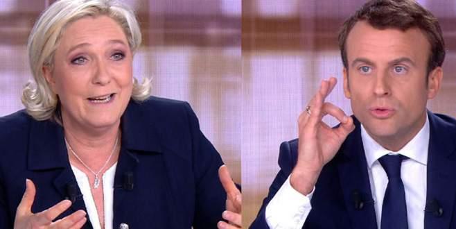 Söz düellosunu Macron kazandı