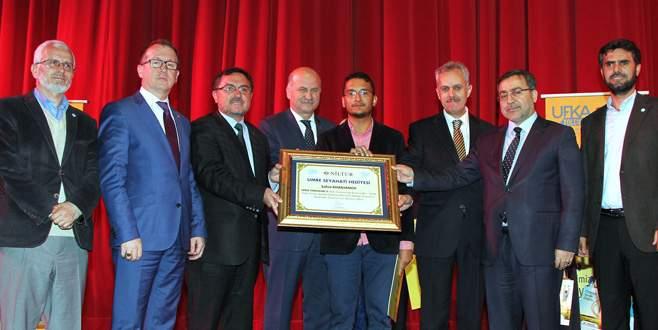 Kültür yarışmasının ödülleri dağıtıldı