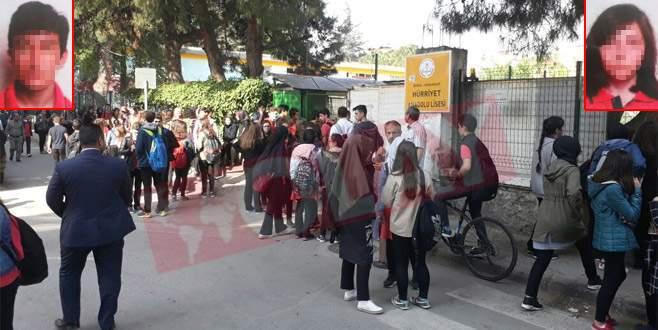 Bursa'da okulda dehşet!
