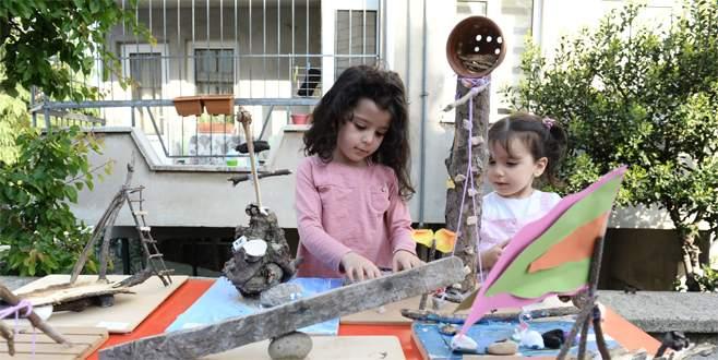 Nilüfer'de çocuklar kendi sokaklarını tasarladı