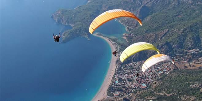 Fethiye'de yamaç paraşütü kazası: 1 ölü