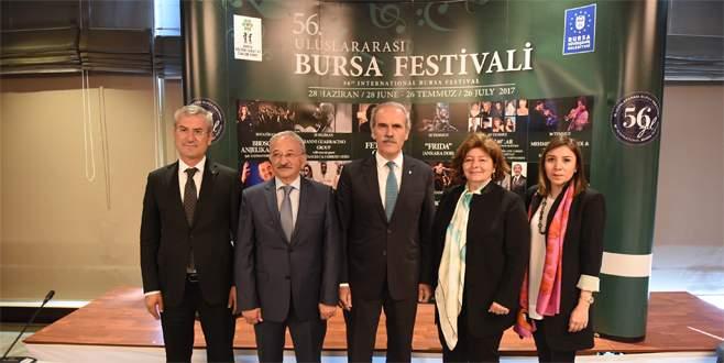 'Bursa Festivali'nde 56. yıl coşkusu
