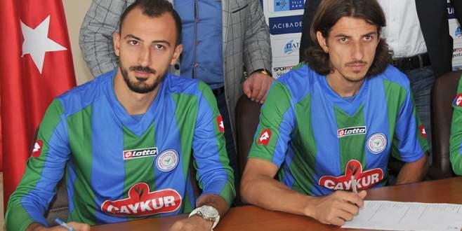 Ahmet İlhan ile Mehmet Akyüz Rize'den koptu!