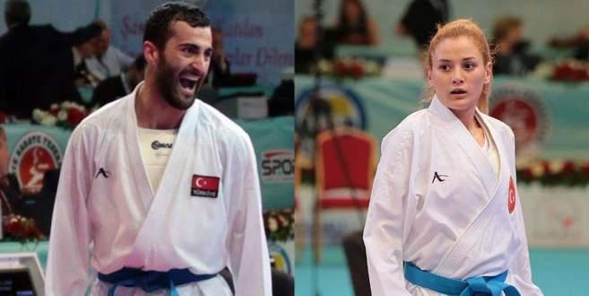 Milli karatecilerden altın madalya