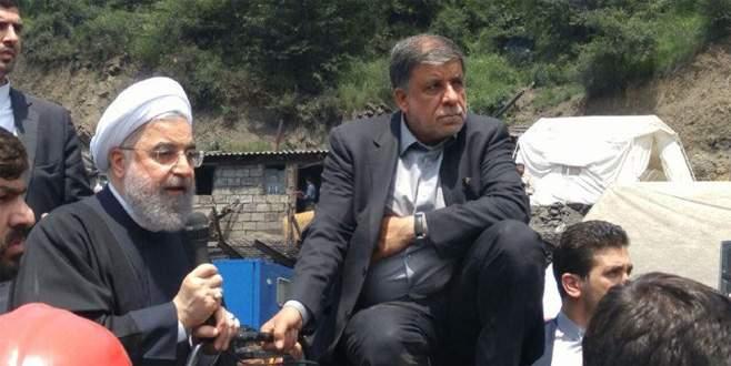 Madenciler Ruhani'yi kovdu
