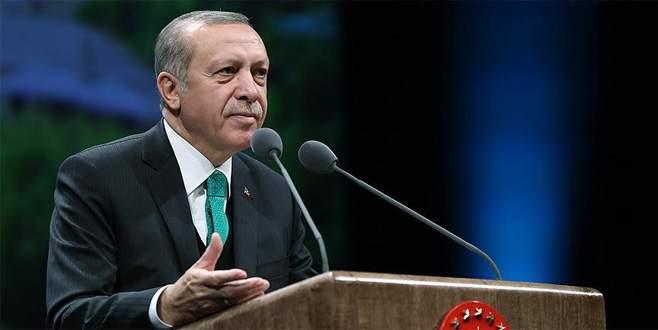 Erdoğan: 'Milletimiz kendini dev aynasında görenlere…'