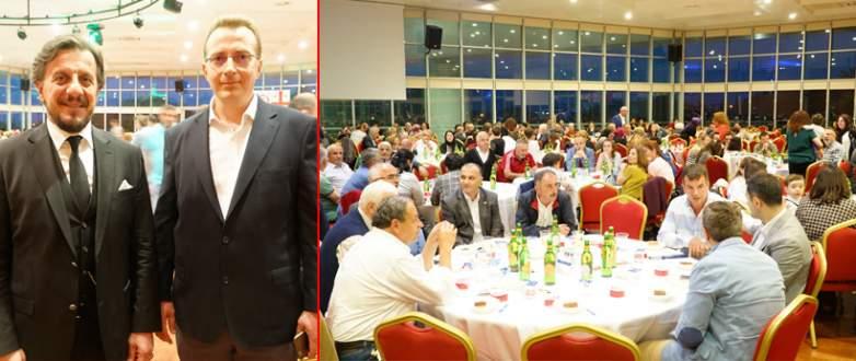 Gürcüler kültür gecesinde buluştu