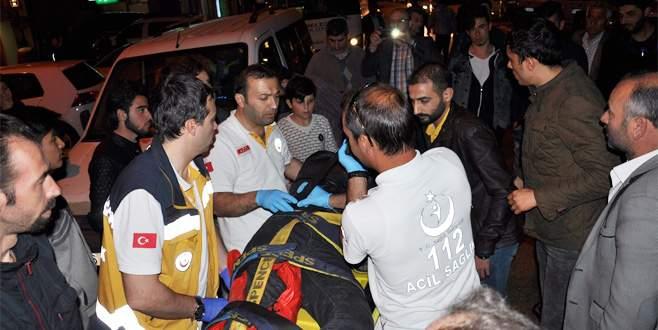 Bursa'da trafik kazası: Biri Suriyeli 2 kişi yaralandı