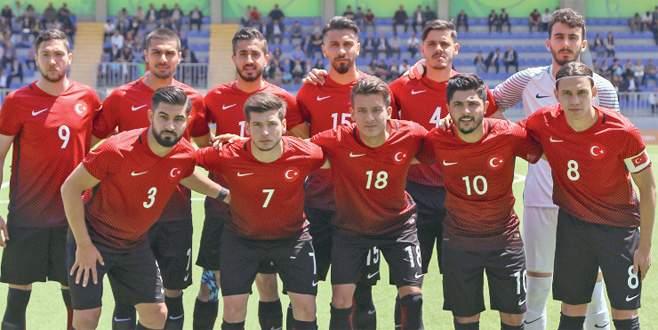 U23 Milliler Bakü'de Cezayir'e 2-1 yenildi
