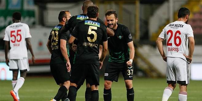 Akhisar Belediyespor 6-0 Gaziantepspor