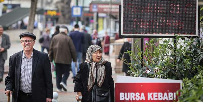 Bursalılar müjde! Sıcaklıklar artacak!