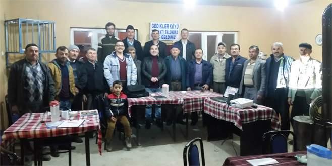 Büyükorhan'da eğitimli çiftçi dönemi