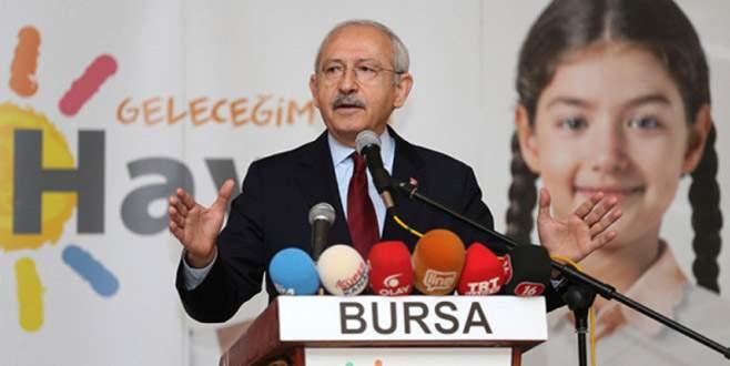 Kılıçdaroğlu pazar günü Bursa'da