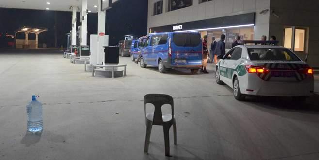 Bursa'da akaryakıt istasyonunda silahlı gasp