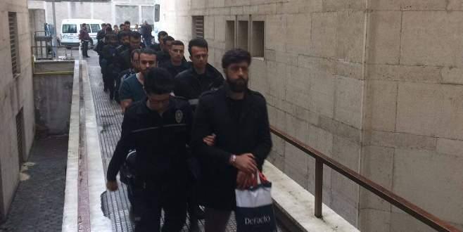Bursa'da 24 kişi FETÖ'den adliyede