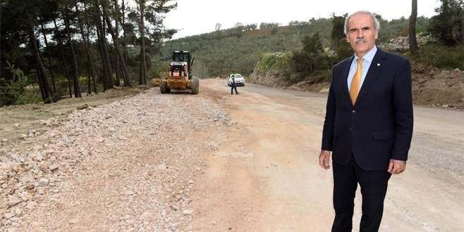 Yunuseli yolu Dereçavuş'a uzatılıyor
