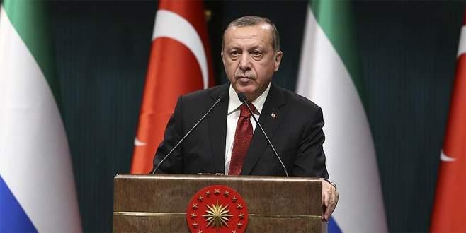 Erdoğan: 'Endişelerimizi Trump'a bizzat ifade edeceğim'