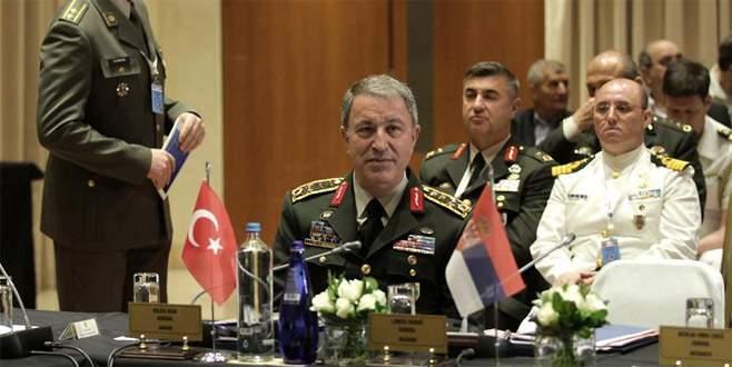 Genelkurmay Başkanı Akar Atina'da