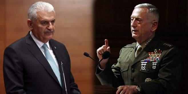 Başbakan Yıldırım, ABD Savunma Bakanı'yla görüştü