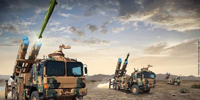 Yerli füzeler envantere giriyor