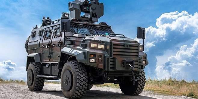Ejder Yalçın III'e SARP Uzaktan Kumandalı Silah Sistemi
