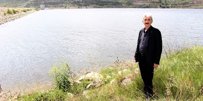 Boğazköy Barajı'ndan sulama başlıyor