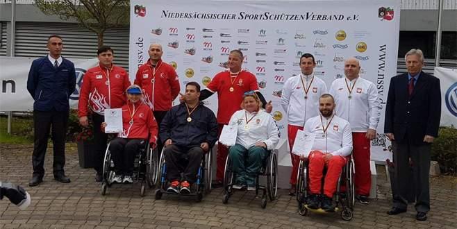 Yıldırımlı engelli atıcı dünya şampiyonu oldu