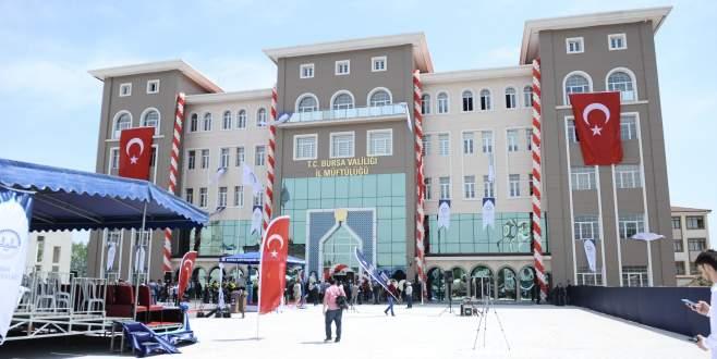 Bursa'ya 9 milyonluk görkemli İl Müftülüğü
