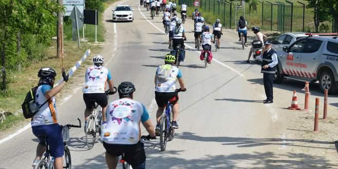 Bisiklet tutkunları Mysia Yolları'nı keşfediyor