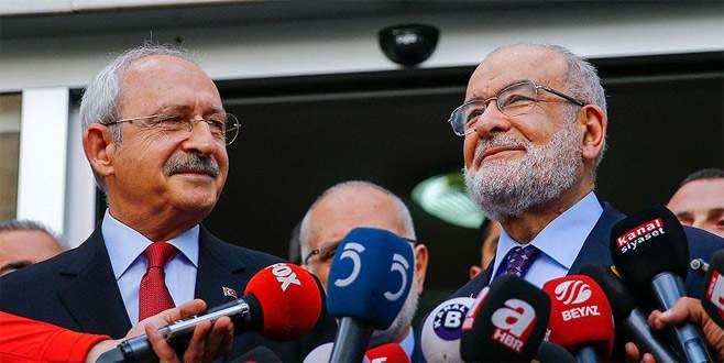 Kılıçdaroğlu'ndan Saadet Partisi'ne ziyaret