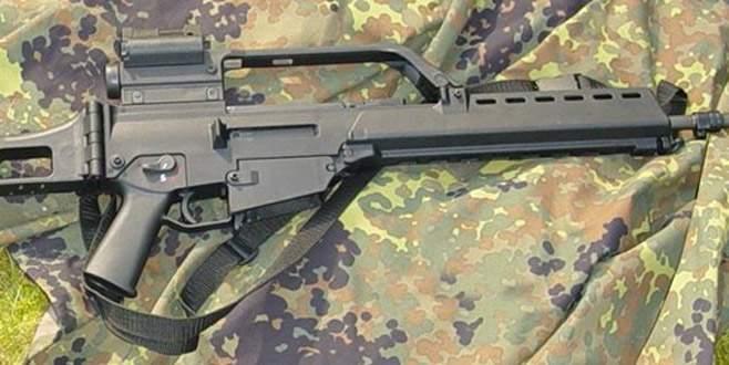 Alman ordusundan silah çalındığı ortaya çıktı