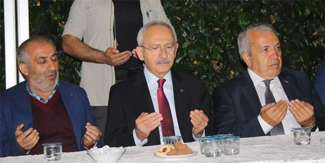 Kılıçdaroğlu Bursa'da taziye ziyaretinde bulundu