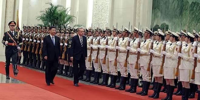 Cumhurbaşkanı Erdoğan Çin Devlet Başkanı Şi ile görüştü