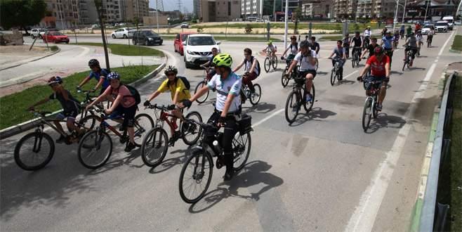 Nilüfer'de 'Bisiklet Şenliği'