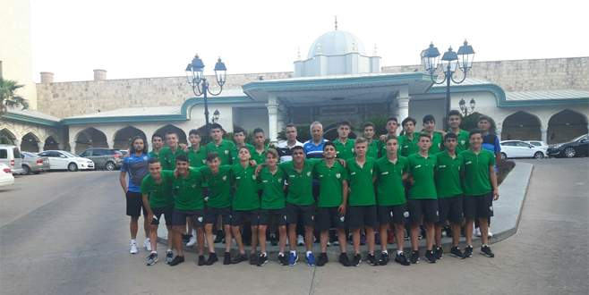 Bursaspor U14 final için sahada