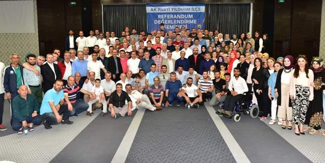 AK Parti Yıldırım'dan kaynaşma semineri