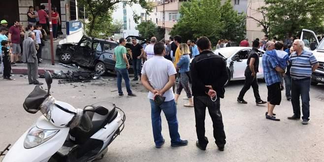 Polis şüpheli kovalamacası: 2 yaralı