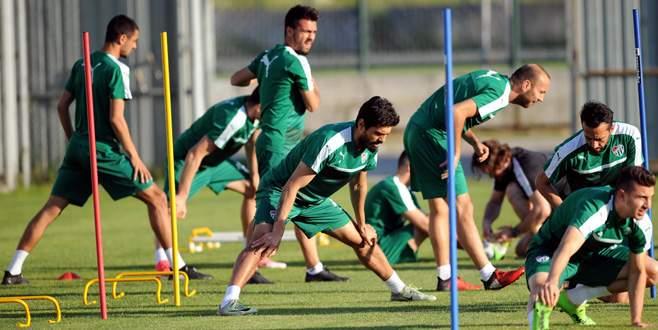 Bursaspor, maç saatini beklemeye başladı